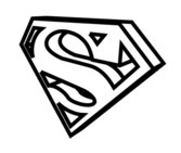Superman-Dimensional Vector Graphic LOGO