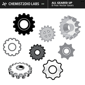 Free Vector Gears - All Geared Up