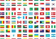 Kostenlose Vector Flags of The World