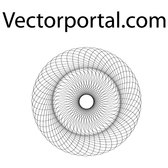 OPTICAL GUILLOCHE VECTOR PATTERN.eps