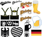 Oktoberfest Icons and Illustrations