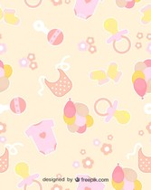Baby seamless patterns