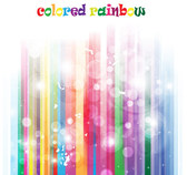 Colorful Abstract Rainbow