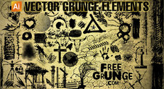 Free vector grunge clipart