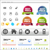 Vector Site Layout And Icons