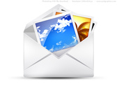 PSD envelope, email icons set