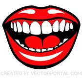SMILING MOUTH VECTOR CLIP ART.eps
