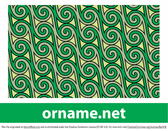 Classical celtic pattern