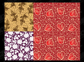 The Beautiful Tiled Background Patterns