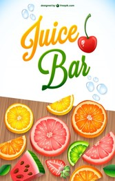 Juice fruit mix