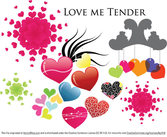 Love me tender - Various Hearts