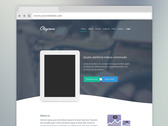 Claymore - Landing page for app presentation