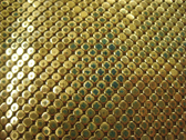 gold sequins background PSD