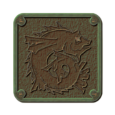 Traced Weathered Bronze Plaque