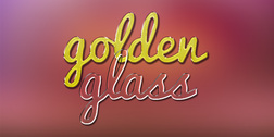 Gold and glass text effects (PSD & .ASL)
