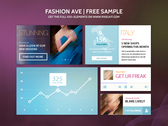 Fashion Ave UI Kit