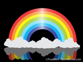 Shiny Rainbow Clouds