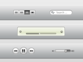 iTunes X elements PSD