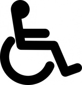 Disabled Wheel Chair Access Sign