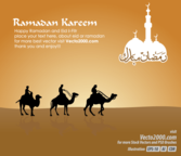 Free Islamic Greeting Card for Ramadan Kareem