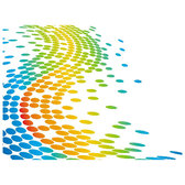 DOTS IN COLOR VECTOR BACKGROUND.eps