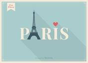 Free Vector Eiffel Tower Paris Lettering