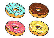 Donut Vector Pack