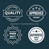 RETRO BADGES VECTOR PACK.ai