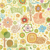 Hand Drawn Animals & Flowers Vector Doodles (Free)