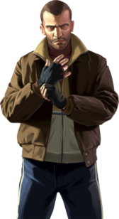 Niko Bellic (GTA IV) PSD
