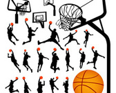 Basketball Player and Equipments