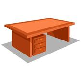 OFFICE DESK VECTOR GRAPHICS.eps