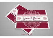 Indian Style Wedding Card