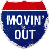 Moving Out Highway Sign PSD