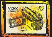 Video Camera Illustration