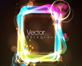 Free Vector Stock Illustration Frame Light