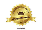 Exclusive VIP Membership Badge