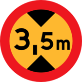 height Sign