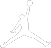 Air Jordan Logo PSD