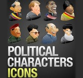 8 Political Leaders Icons