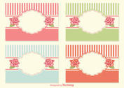 Shabby Chic Style Labels