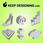 3D Corporate Economical Sign Pack