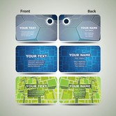 Dynamic Technology Business Card Template 02