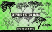 11 Detailed vector trees