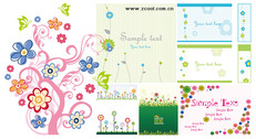A Variety Of Lovely Flowers, Style, Pattern