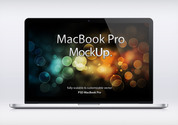 MacBook Pro Retina Psd makieta