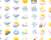 Full Weather Icons Collection