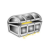 TREASURE CHEST VECTOR CLIP ART.ai