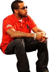 Lloyd Banks Orange Polo PSD