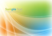 Abstract Colored Design Background Illustration